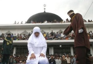 caning+in+aceh